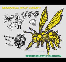 Wasp Desgin concept by TheInsaneDingo