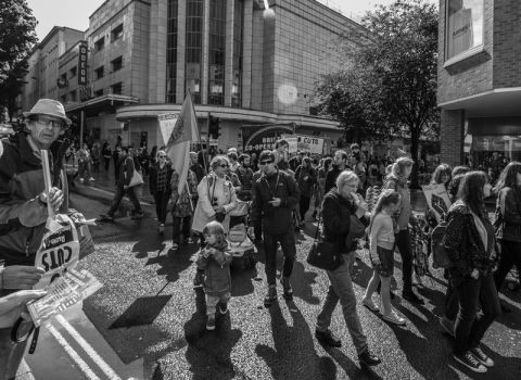 Protest March Bristol 2017 by Xs9nake