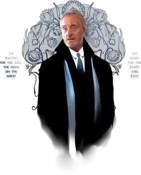 Iron :: Charles Dance by erebus-odora