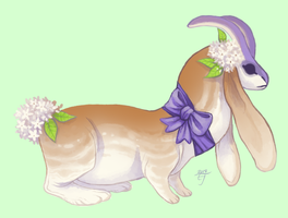 (Closed!) Bradford Pear Maskbeast by The-Monster-Shop