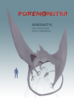 Pokemonster - Aerodactyl by MissMagnificent