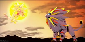 [MMD Pokemon] Download-Solgaleo by Kinishan