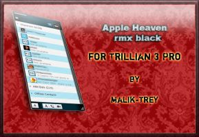 Apple Heaven rmx black by malik-trey
