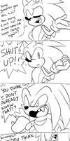 Sonic and Knuckles Comic by sp-rings