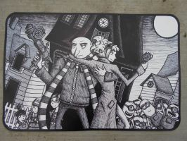Despicable Me 2 Mouse Pad by Jagarnot