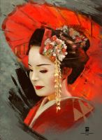 20160121 Geisha Psdelux by psdeluxe