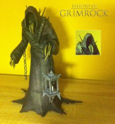 Legends of Grimrock - Goromorg Papercraft by stange1337