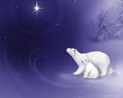 Snowy Polar dreams v. 2 by LeeAnneKortus