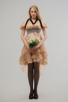 Recycled Graduation Dress by Si3art