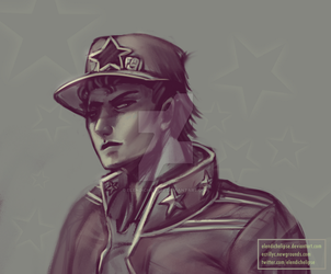 part 6 Jotaro by ElendichElipse