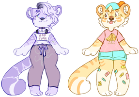 pastel big cat adopts OTA | CLOSED by flvffy
