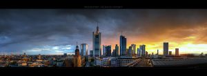 Frankfurt Sunset I by Panomenal