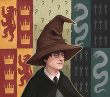 harry potter by JerCooper