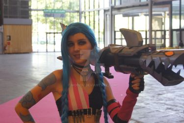 Jinx LOL Japan Expo 2017 Paris by mopiou