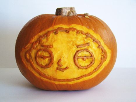 Stewie Pumpkin by EmmaL27