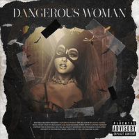 Ariana Grande - Dangerous Woman (Deluxe Edition) by GOLDENDesignCover