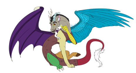 Welcome Discord, the Prince of Chaos by fyrewhisp