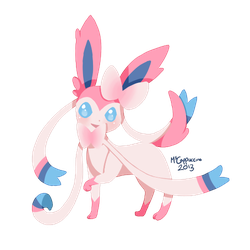 Ninfia/Sylveon by MsCappuccino