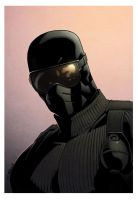 Snake Eyes Commando bust by spidermanfan2099