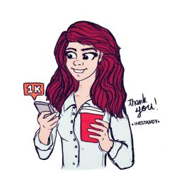 1000 Followers! Thank You! by Inkstandy