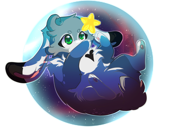 .: Star Globe :. (Art Trade) by SweetElectricity