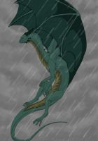 Pouring Rain by RivenTear
