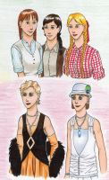 Young Girls by DieWalkyrie