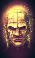 Pinhead by Dubcarnage