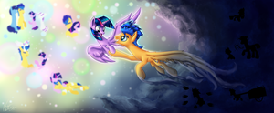 A Path to the Light by NightPaint12