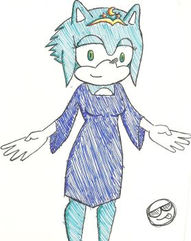 Sonic's Mother? *What I think she should look like by Seinari