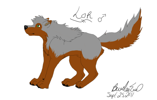 Lor - flat color ref by Wolven-Sorceress