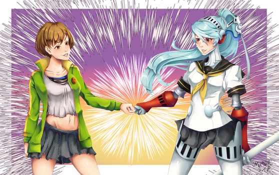 Fist Bump! [P4A] by marisetteart