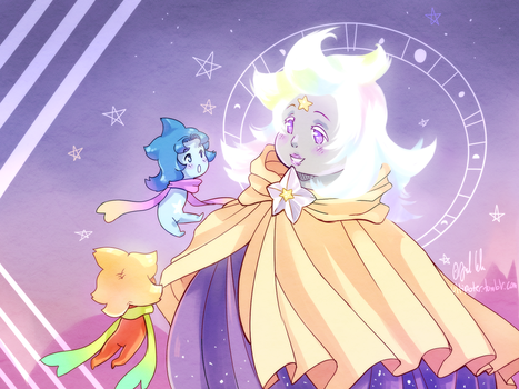 Starry family by Ultipoter