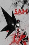 Sam Issue 3 Cover by neworlder