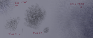 Fur brushes - FREE download by Rametic