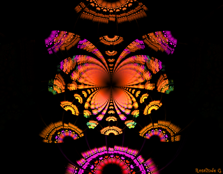 Butterfly Morning by fractal1