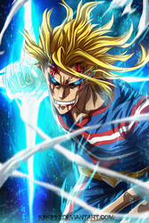 All Might full time by k9k992