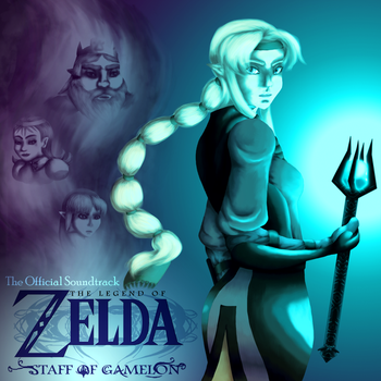 Staff of Gamelon CD Cover by Cherry-sama