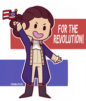 For The Revolution! by Pen-Blotch