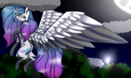 Art Trade Magical Wings  by AmyWolf2005