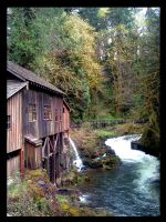 Grist Mill in Color by rowaneagle