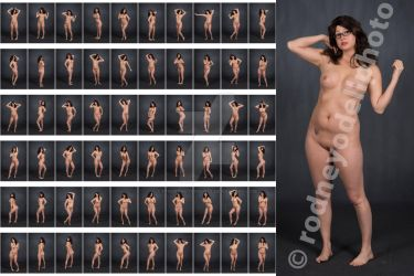 Stock: Stephanie Nude Standing - 60 Images by stockphotosource