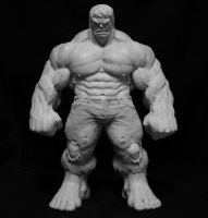 Mcguinness Hulk Statue by sup3rs3d3d
