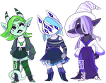 [OPEN] Cool Color Chibi Adopts [s30] by MonsterRadio