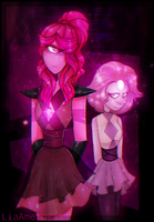 Indian Pink and her pearl by LiaAmethyst