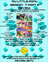 MLP FIM Season 7 Part 2 Review by Michaelsety