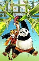 Kung Fu Panda 5 cover colors by DustinEvans