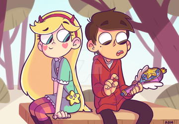 Star and Marco by AlexDasMaster