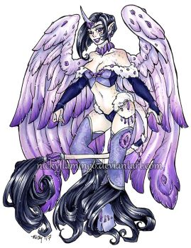 Amethyst Phoenix Unicorn Adopt Custom VIDEO ADDED by nickyflamingo