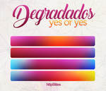 Degradados: YES OR YES by httpStiles